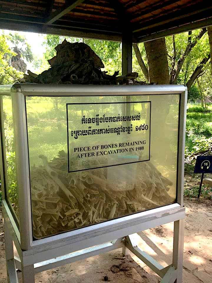 Choeung Ek Killing Fields Bones