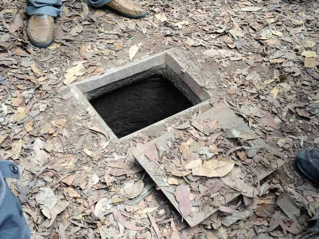 Cu Chi Tunnels Opening