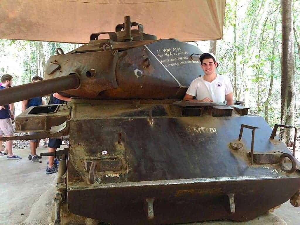 Cu Chu Tunnels Tank