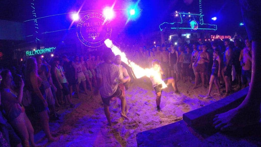 Full Moon Party Koh Phangan Jump Rope