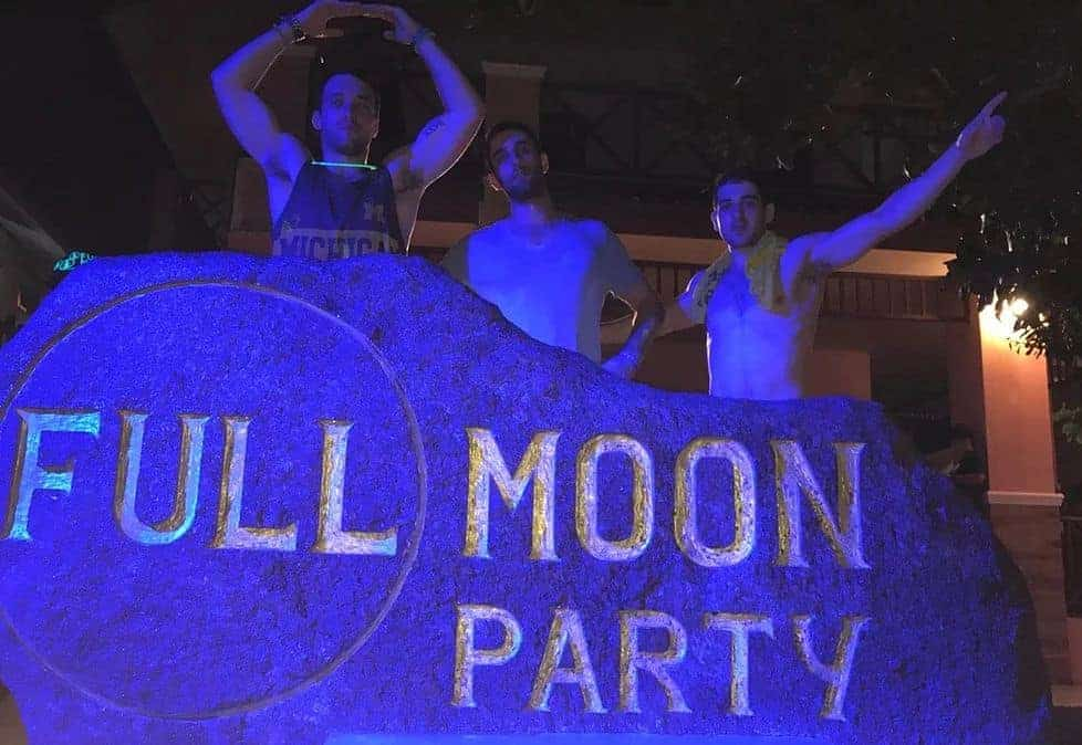 Full Moon Party Rock