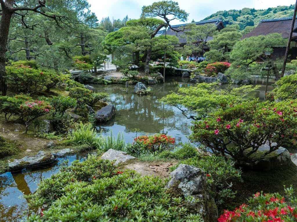 Ginkaku-ji Gardens Kyoto