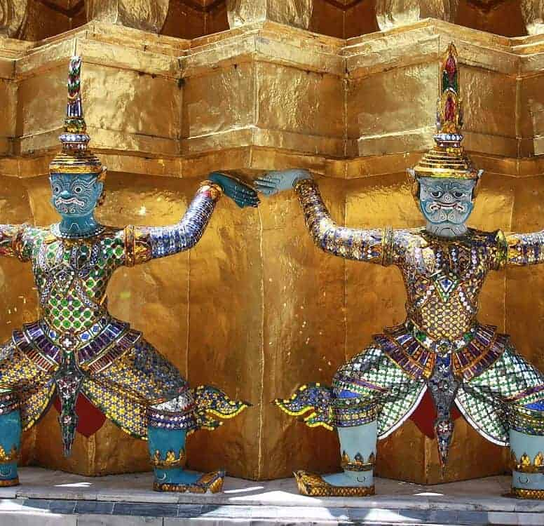 Grand Palace Bangkok Sculpture