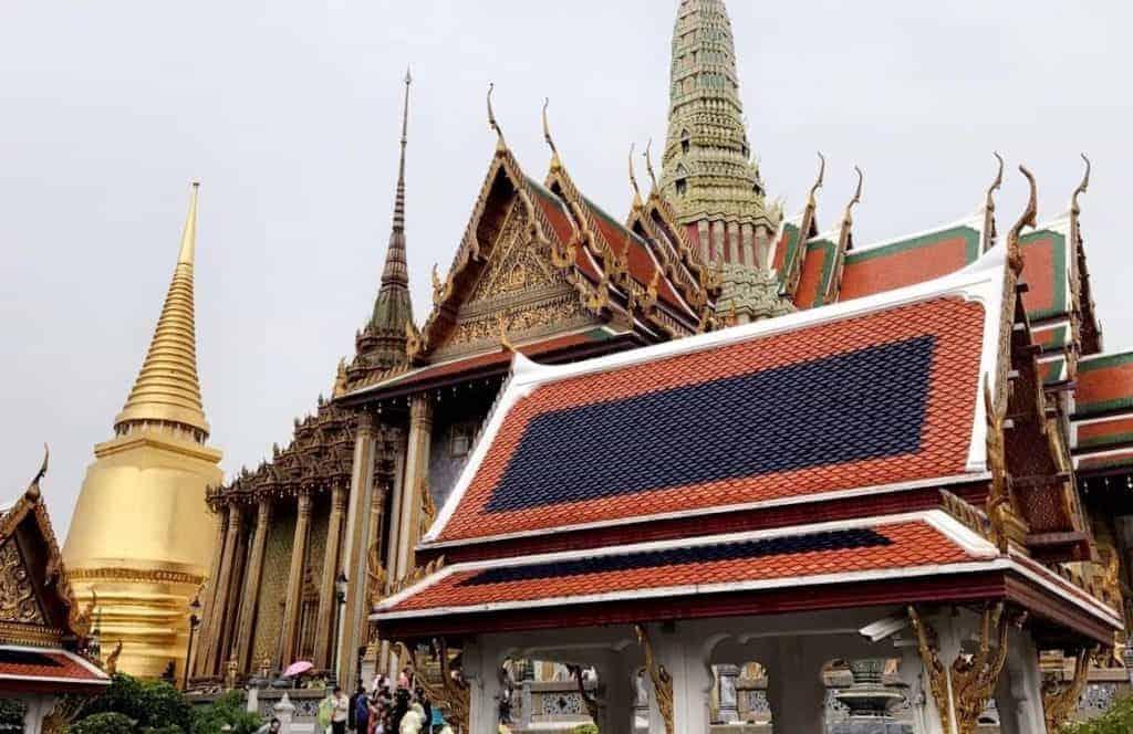 Grand Palace Temples Bangkok