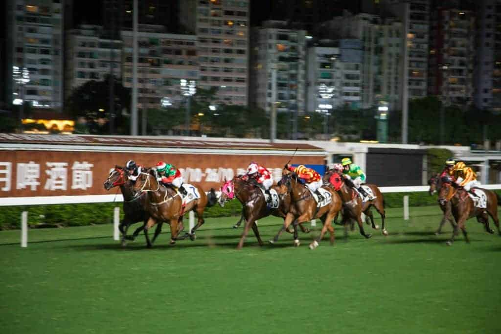 Happy Valley Racecourse Hong Kong