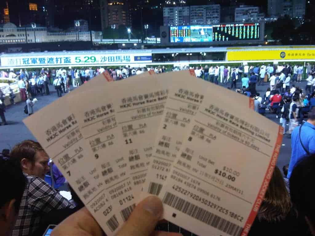 Happy Valley Racecourse Tickets