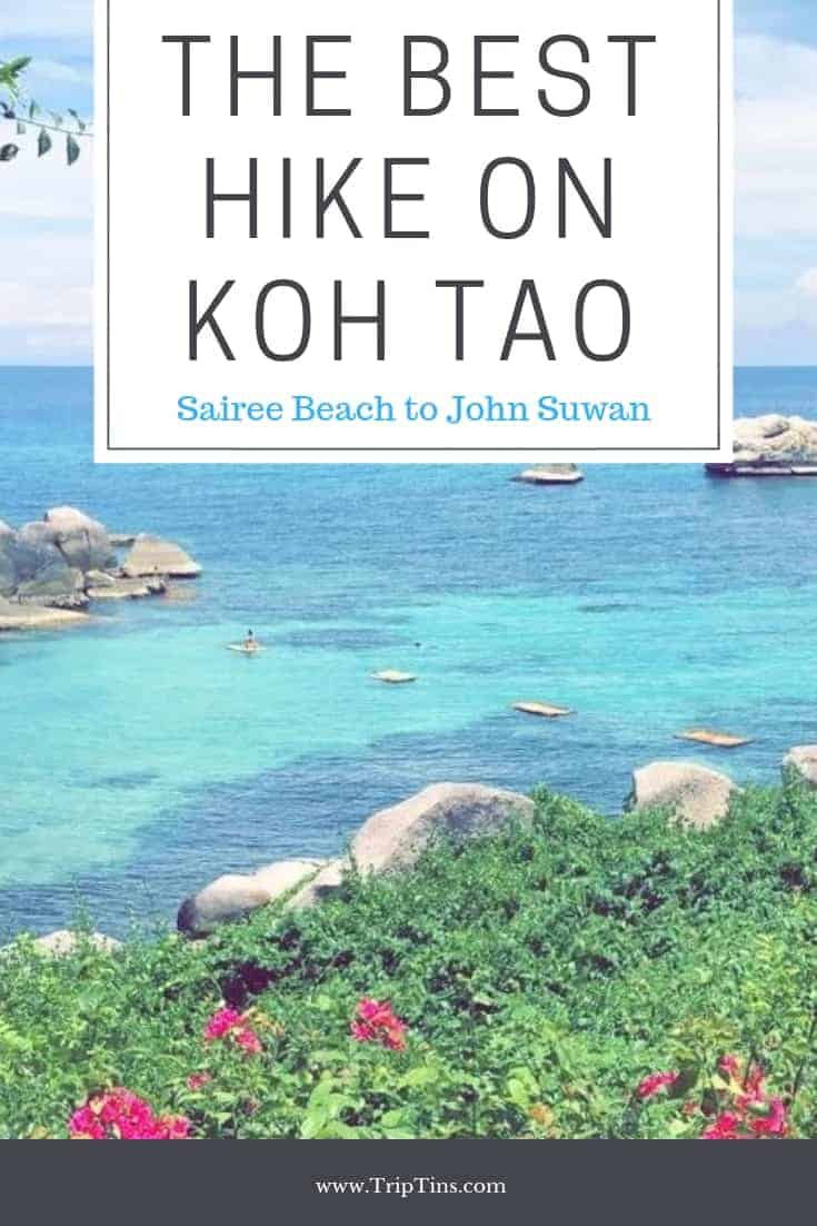 Hiking Koh Tao