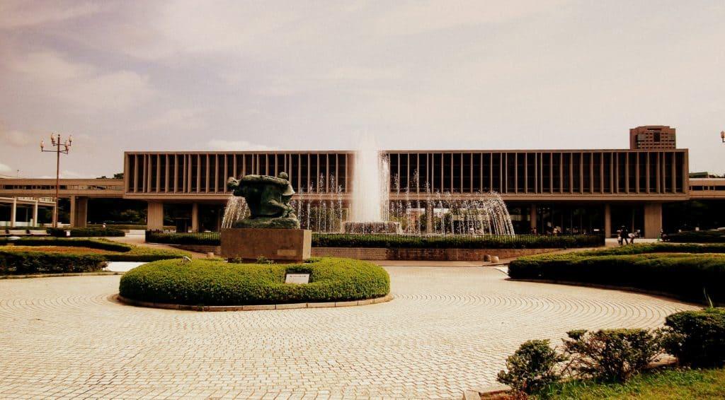 Hiroshima Museum Outside