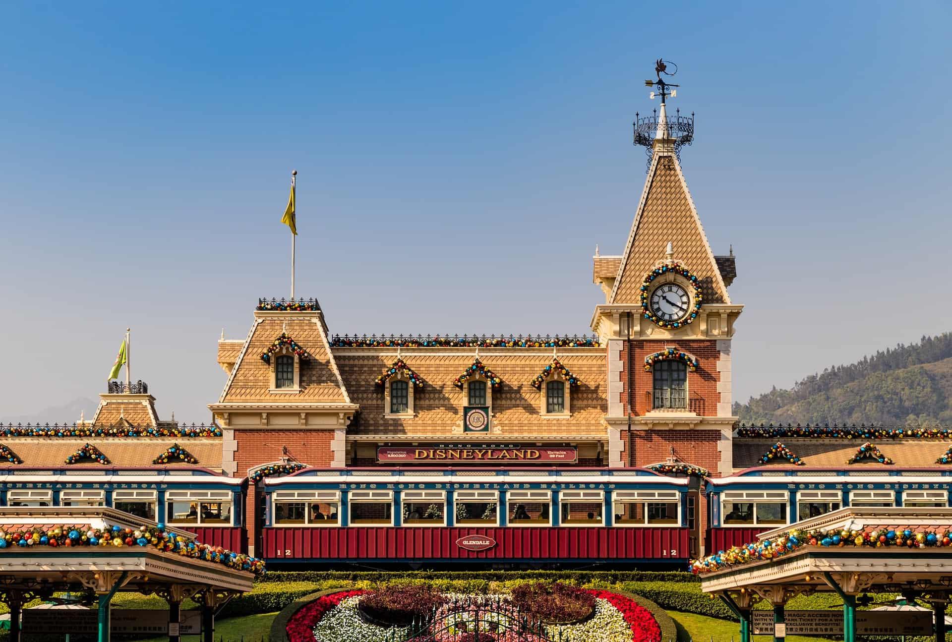 Hong Kong Disneyland Front