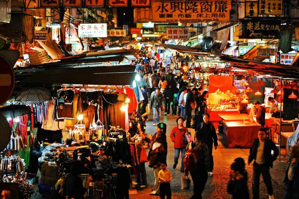 Hong Kong Market Night