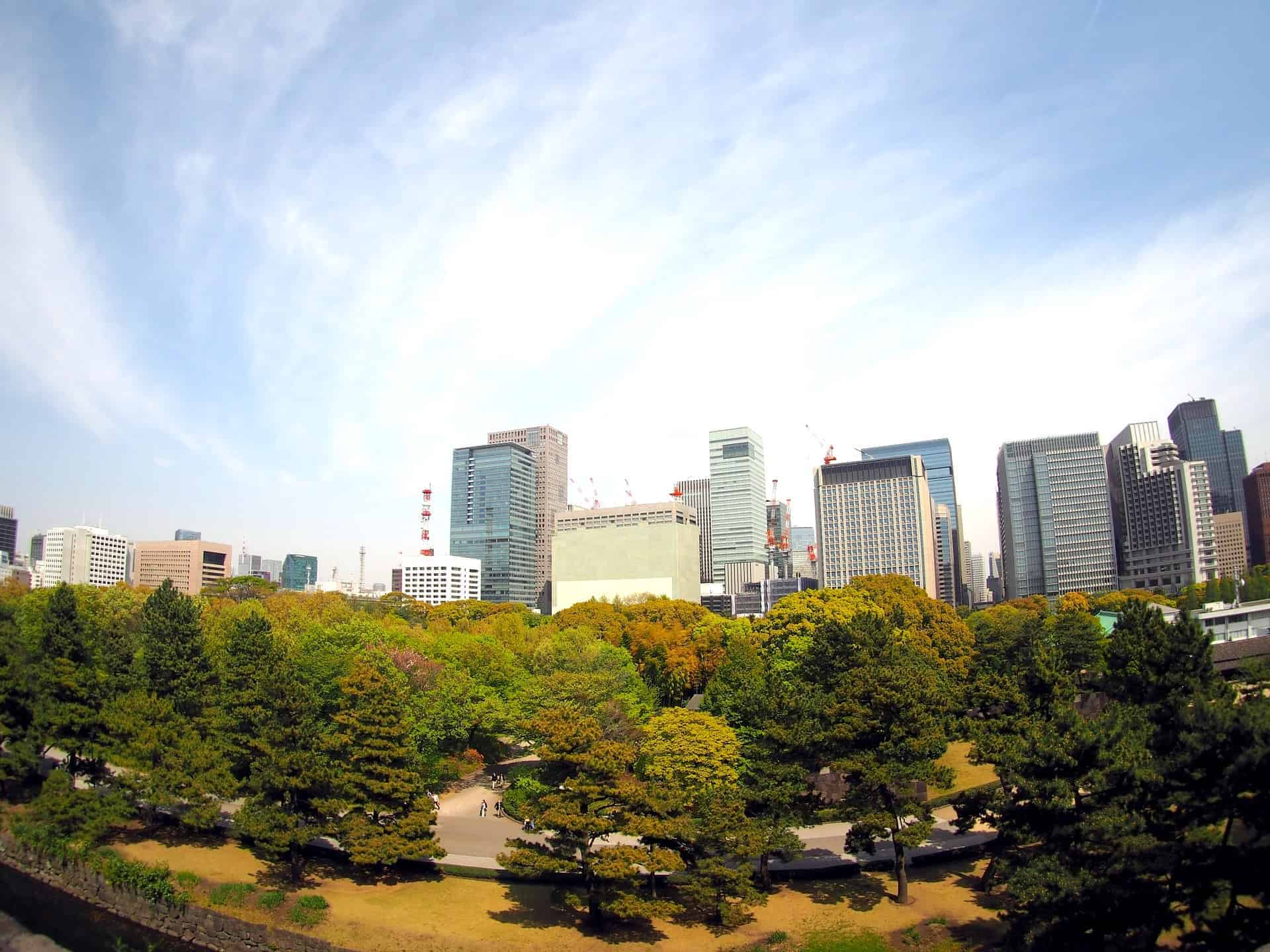 Imperial Palace Greenery