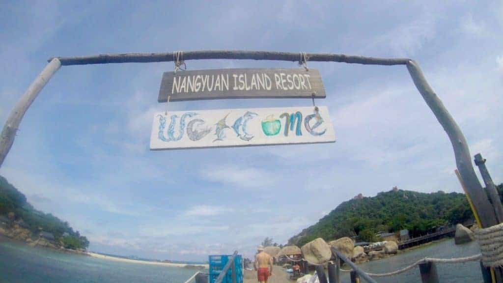 Koh Nang Yuang Welcome