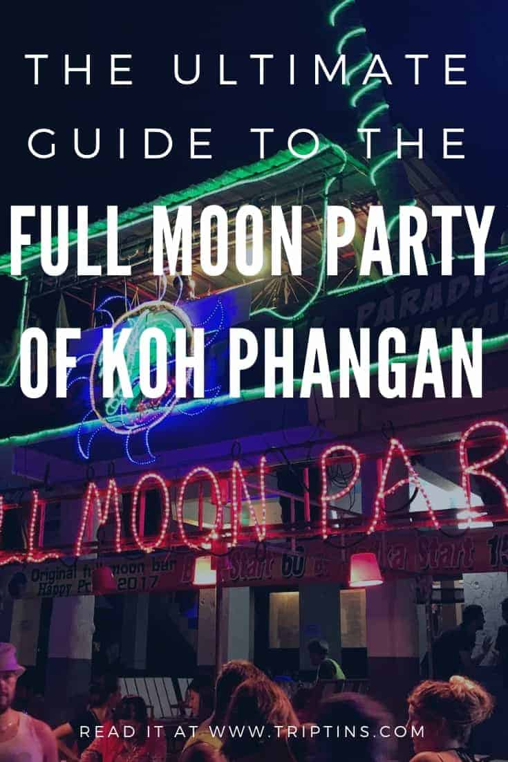 Koh Phangan Buckets Full Moon Party