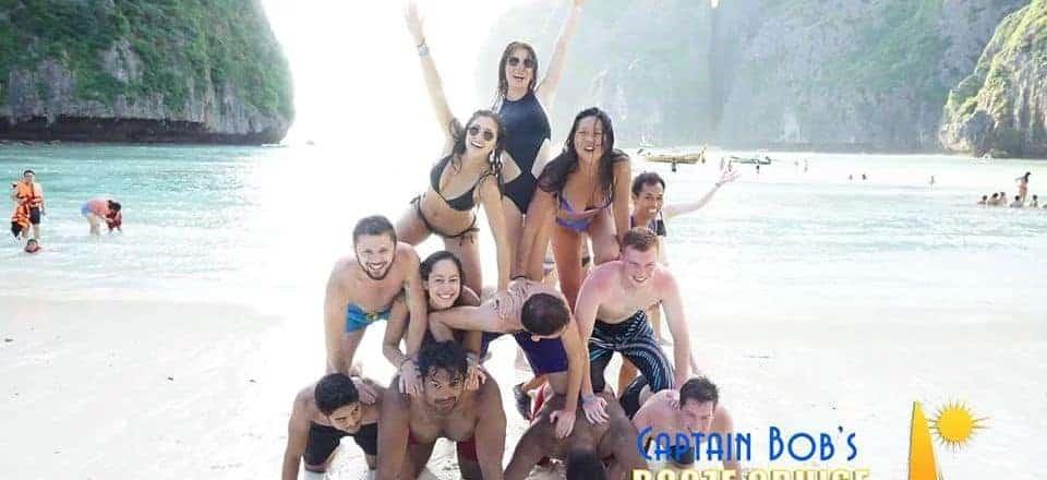 Koh Phi Phi Booze Cruise Maya