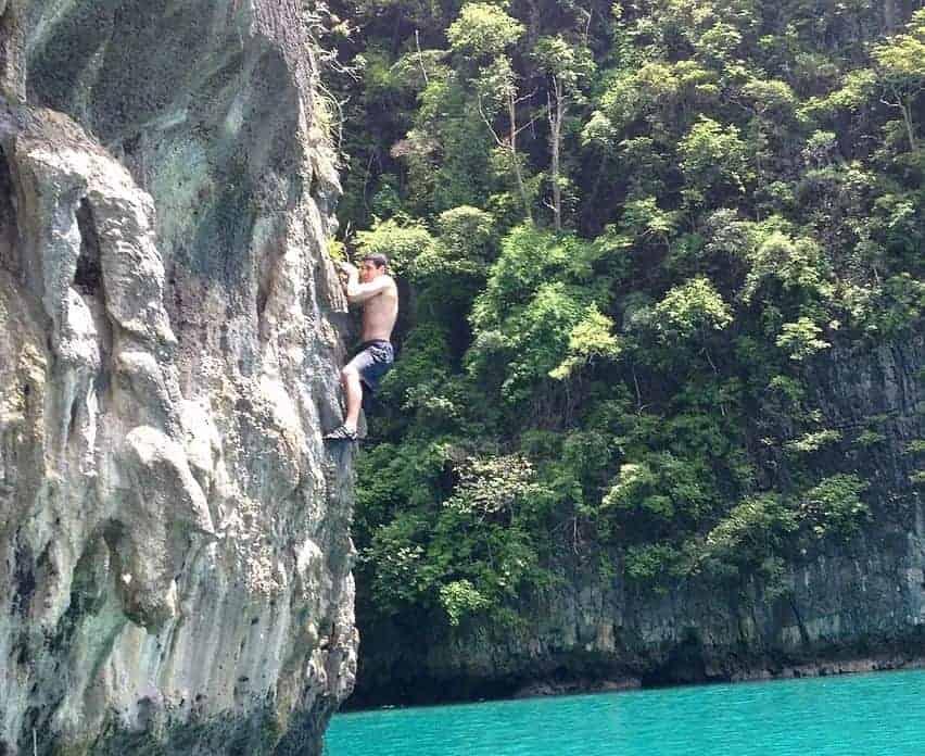 Koh Phi Phi Deep Water Solo