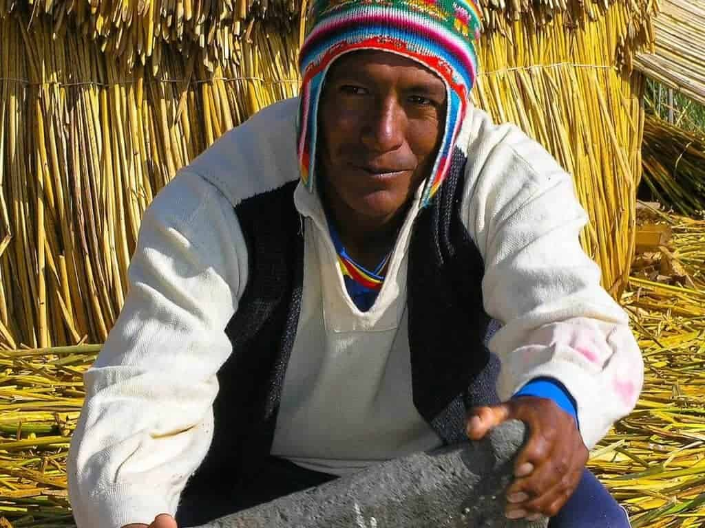 Lake Titicaca Uros People