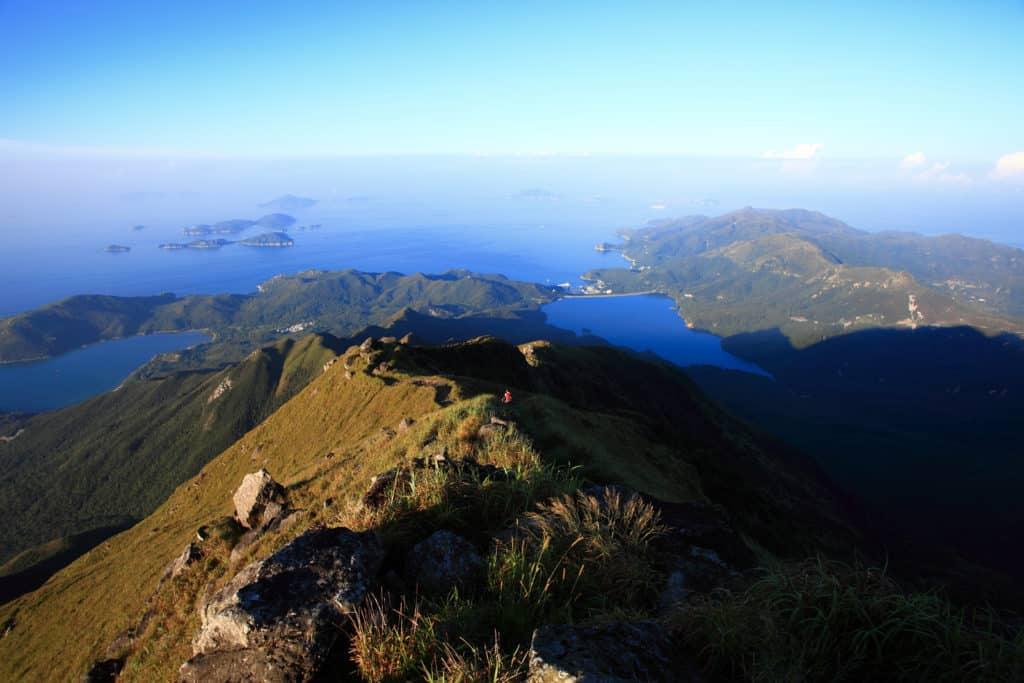 Lantau Peak Hike View