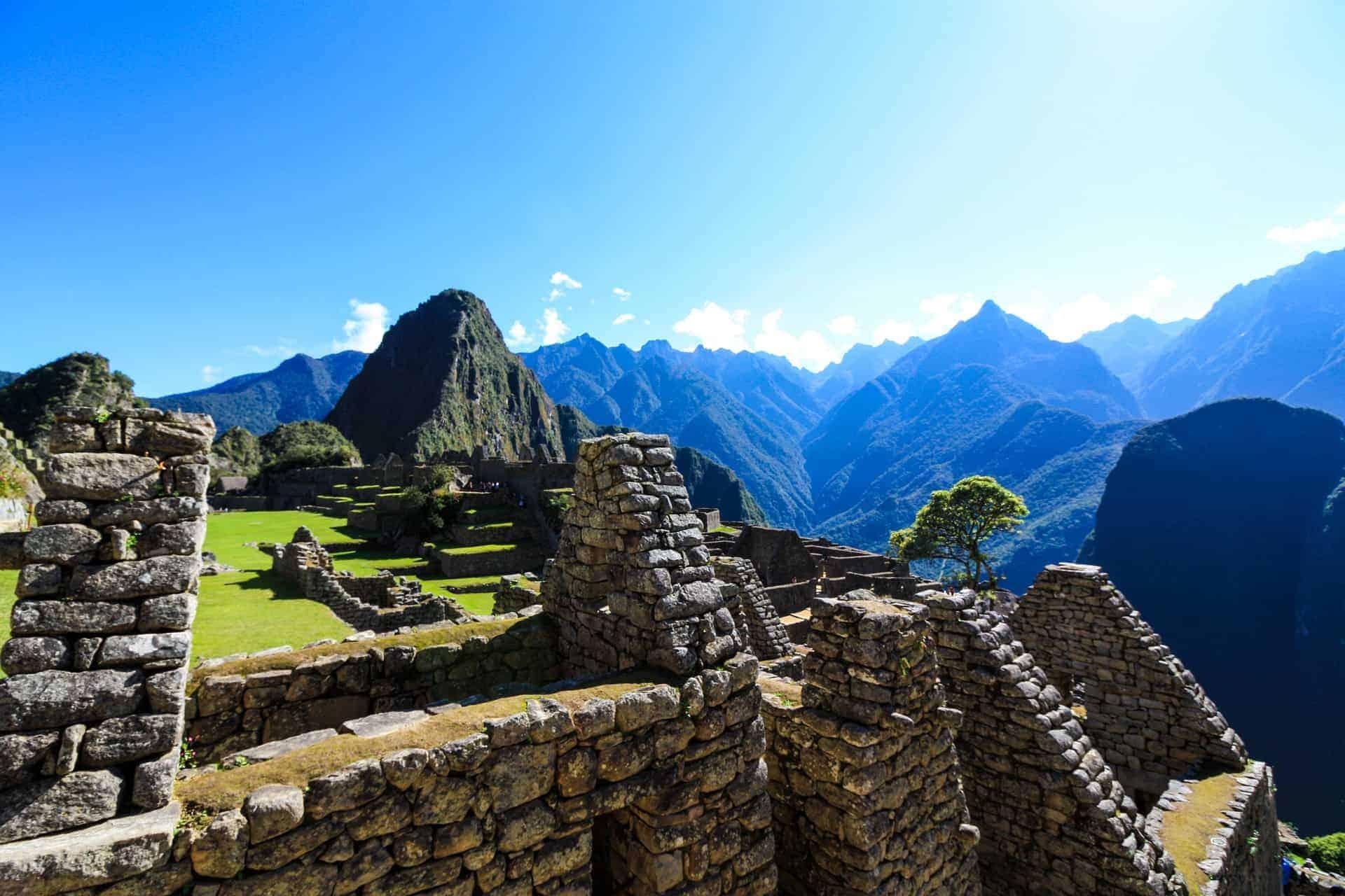 Machu Picchu Terrace