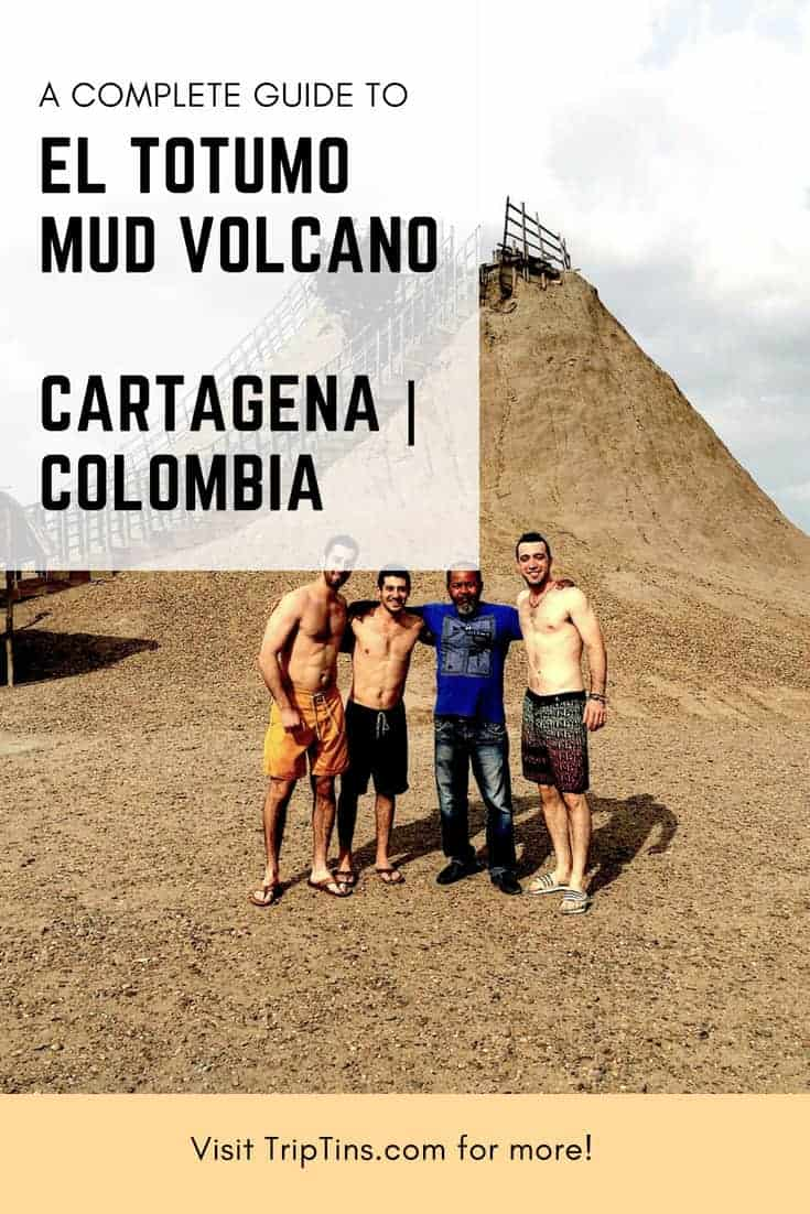Mud Volcano Colombia