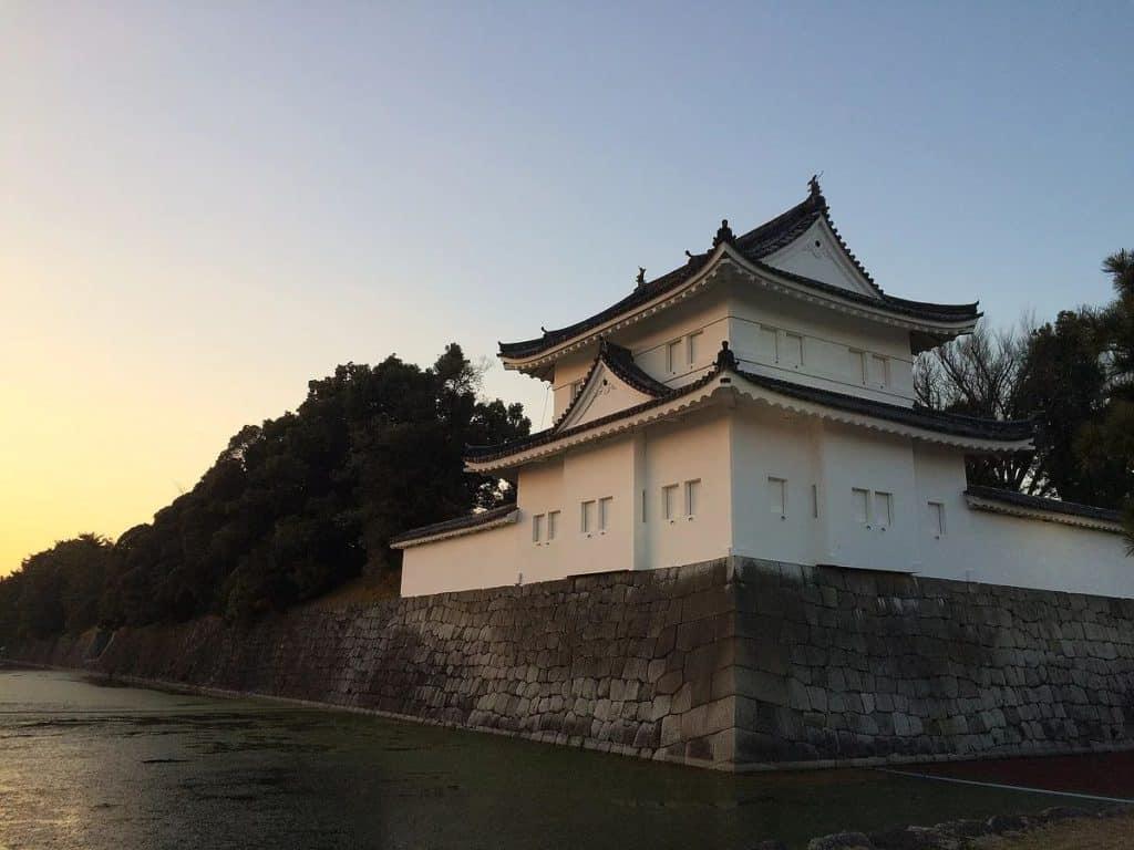 Nijo Castle Moat Kyoto
