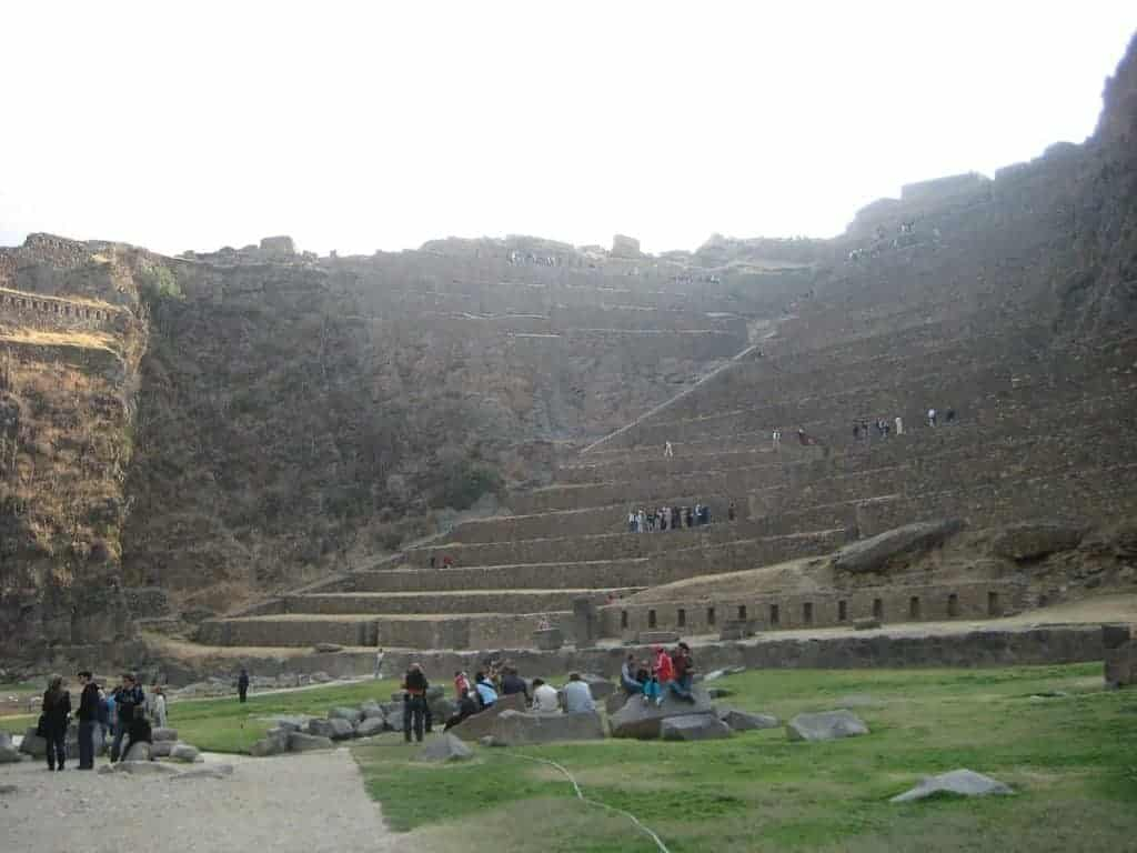 Ollantaytambo Fortress Peru