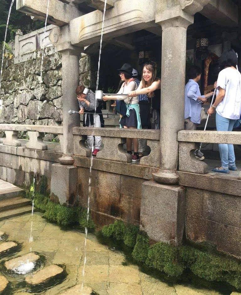 Otowa Waterfall Kyoto