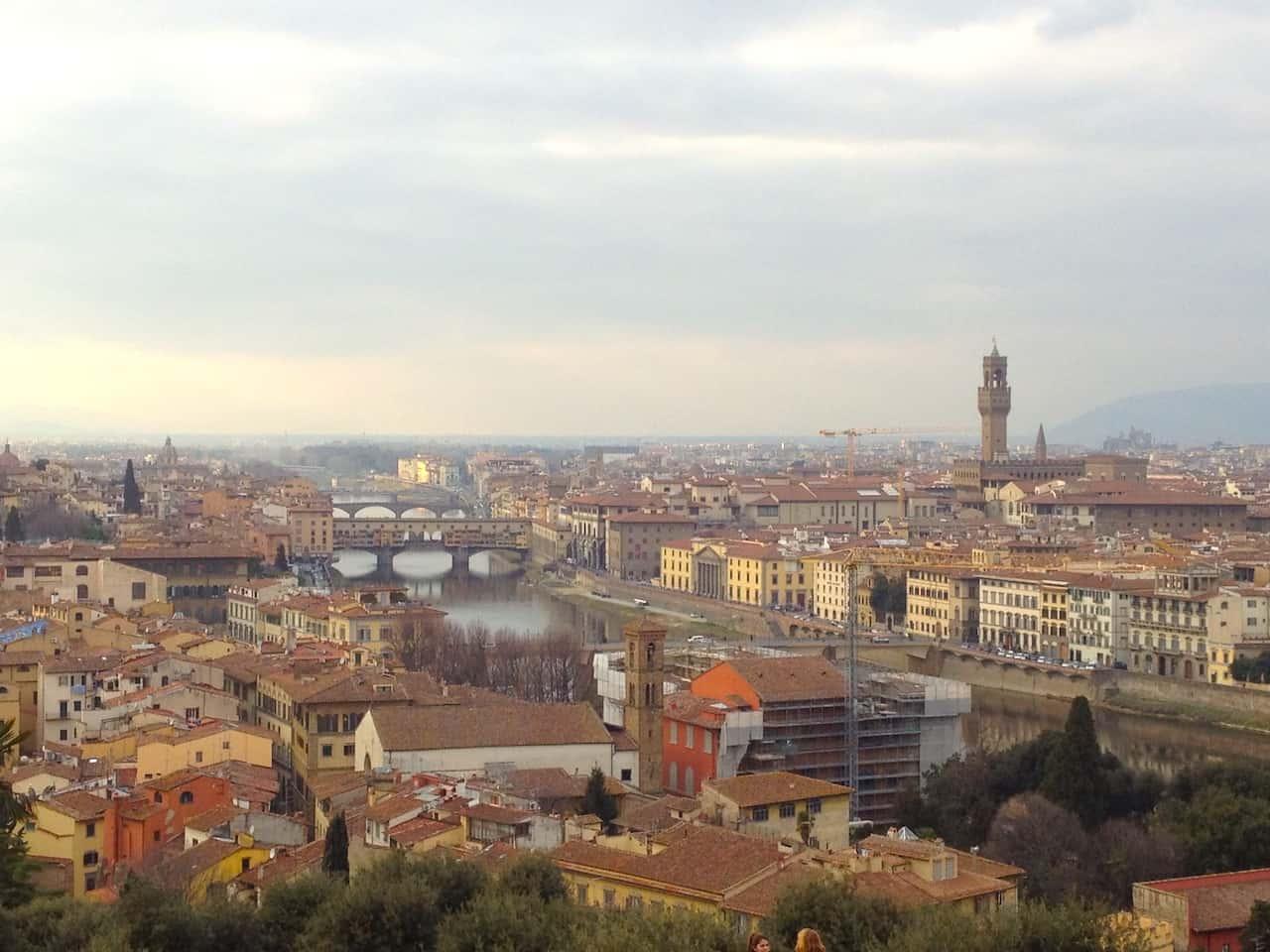 Piazzetta Michelangelo Firenze