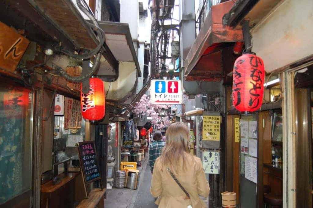 Piss Alley Tokyo Japan