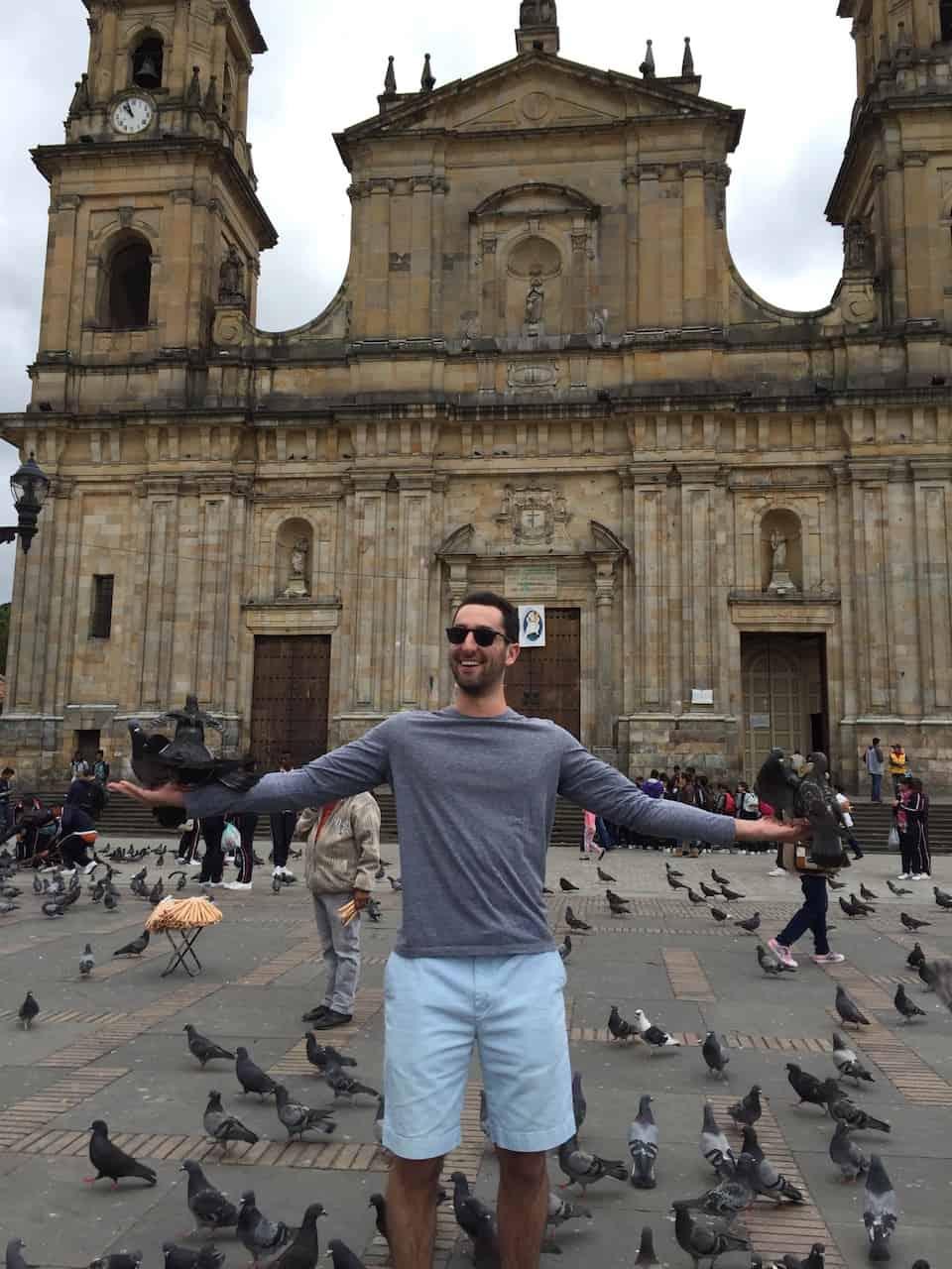 Plaza Bolivar Pigeons