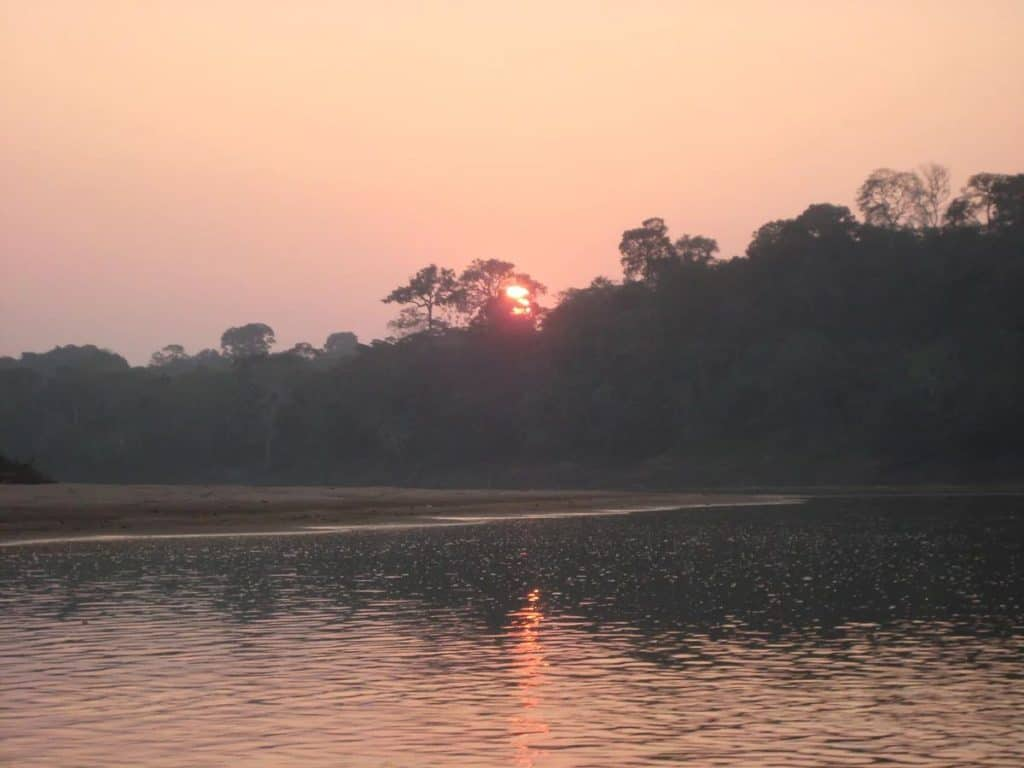 Refugio Amazonas Sunset