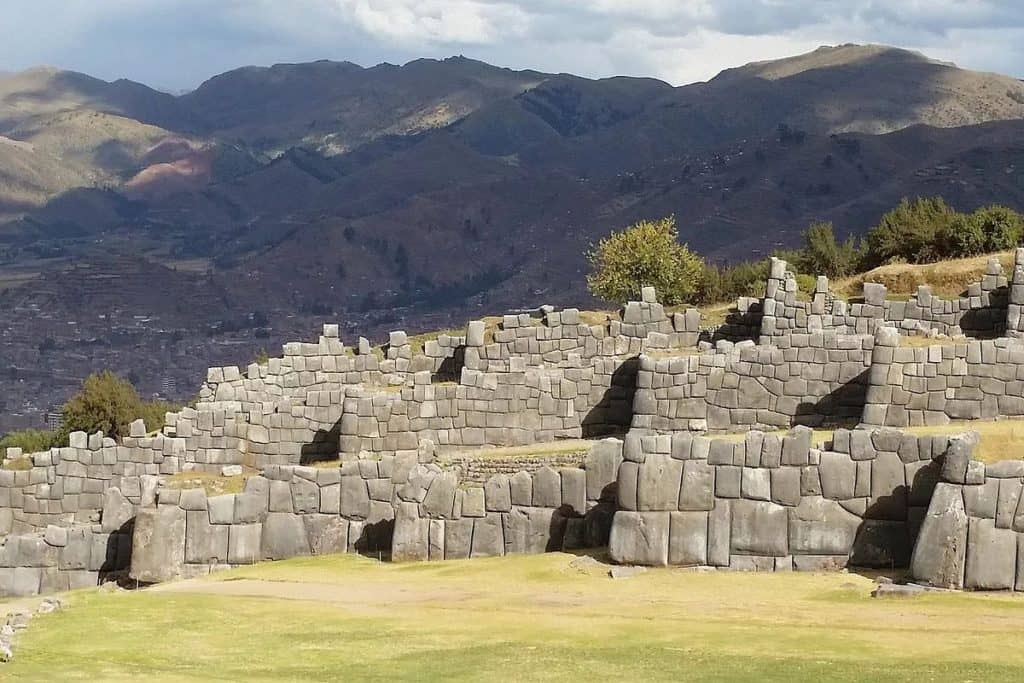 Sacsayhuaman Fortress Cusco Walls