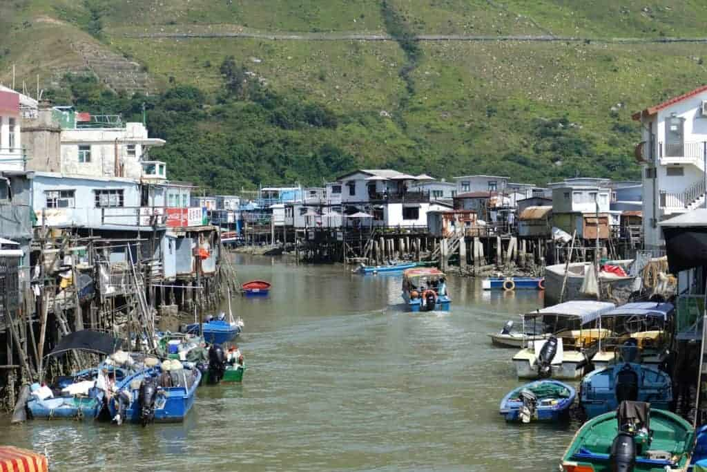 Tai O Fishing Village Lantau