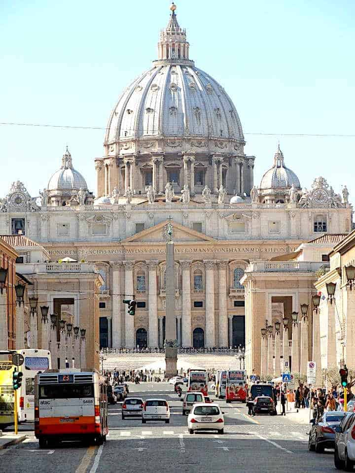 Vatican City Entrance