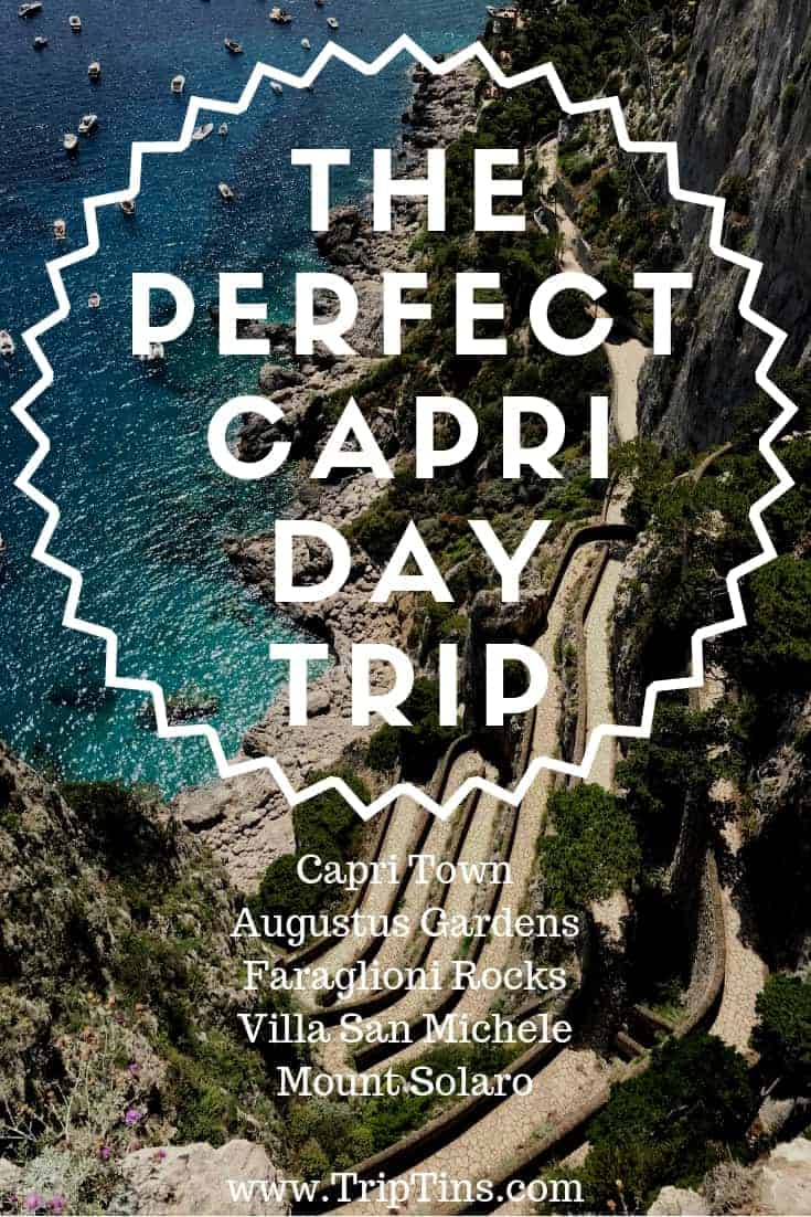 One day Capri itinerary