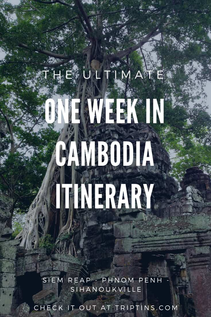 One Week in Cambodia Itinerary