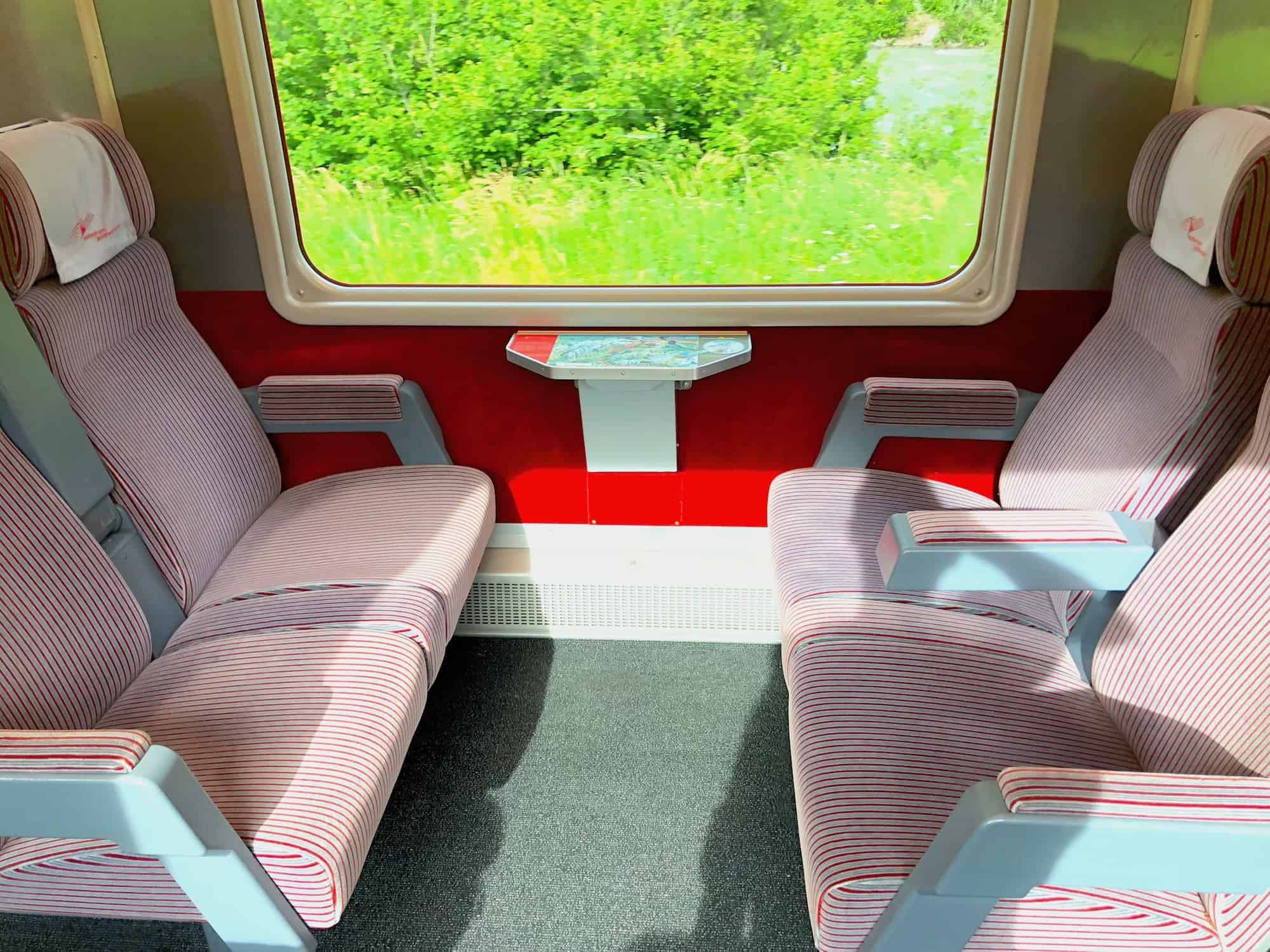 Swiss Train First Class