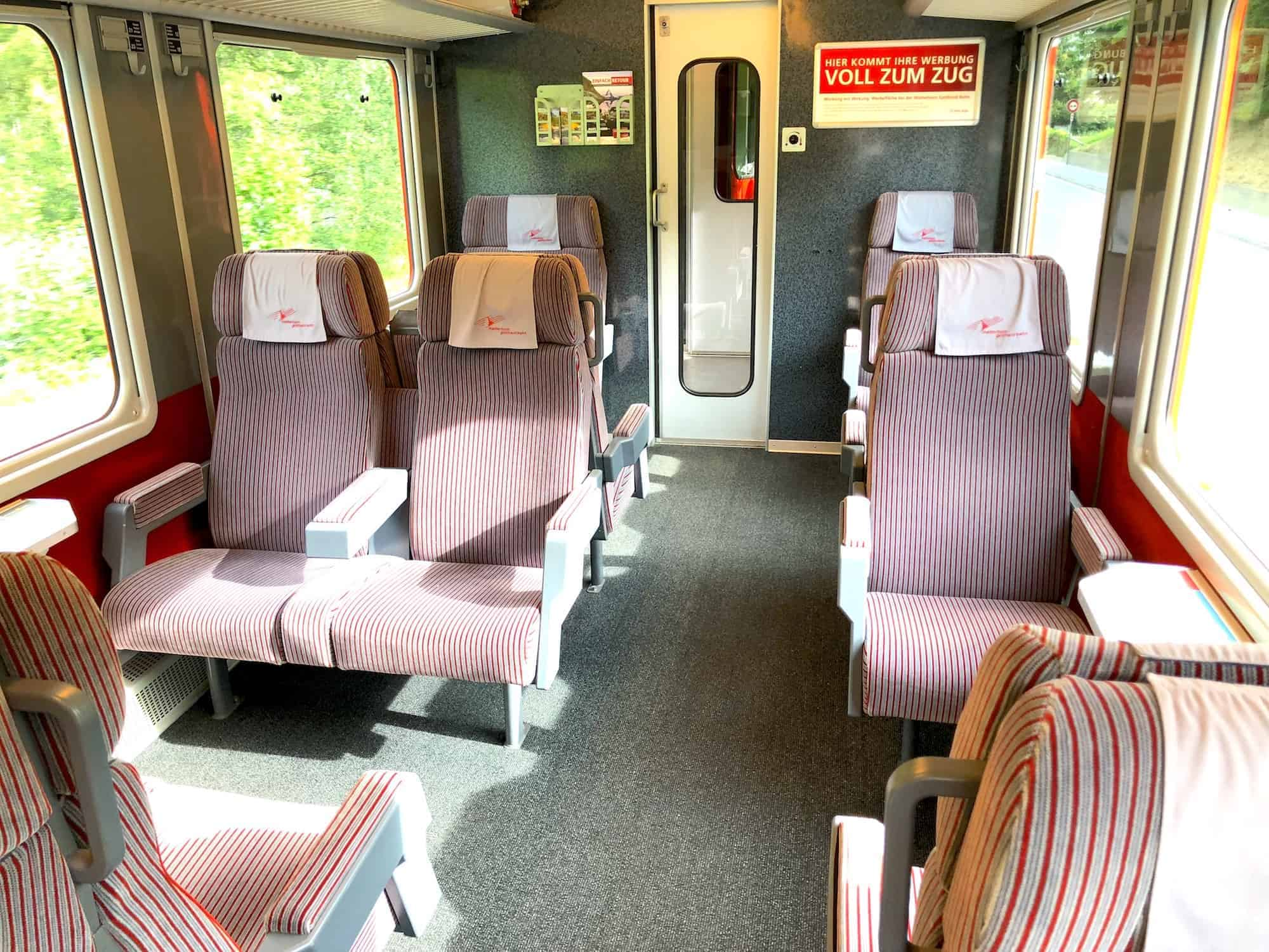 Swiss Train First Class 2