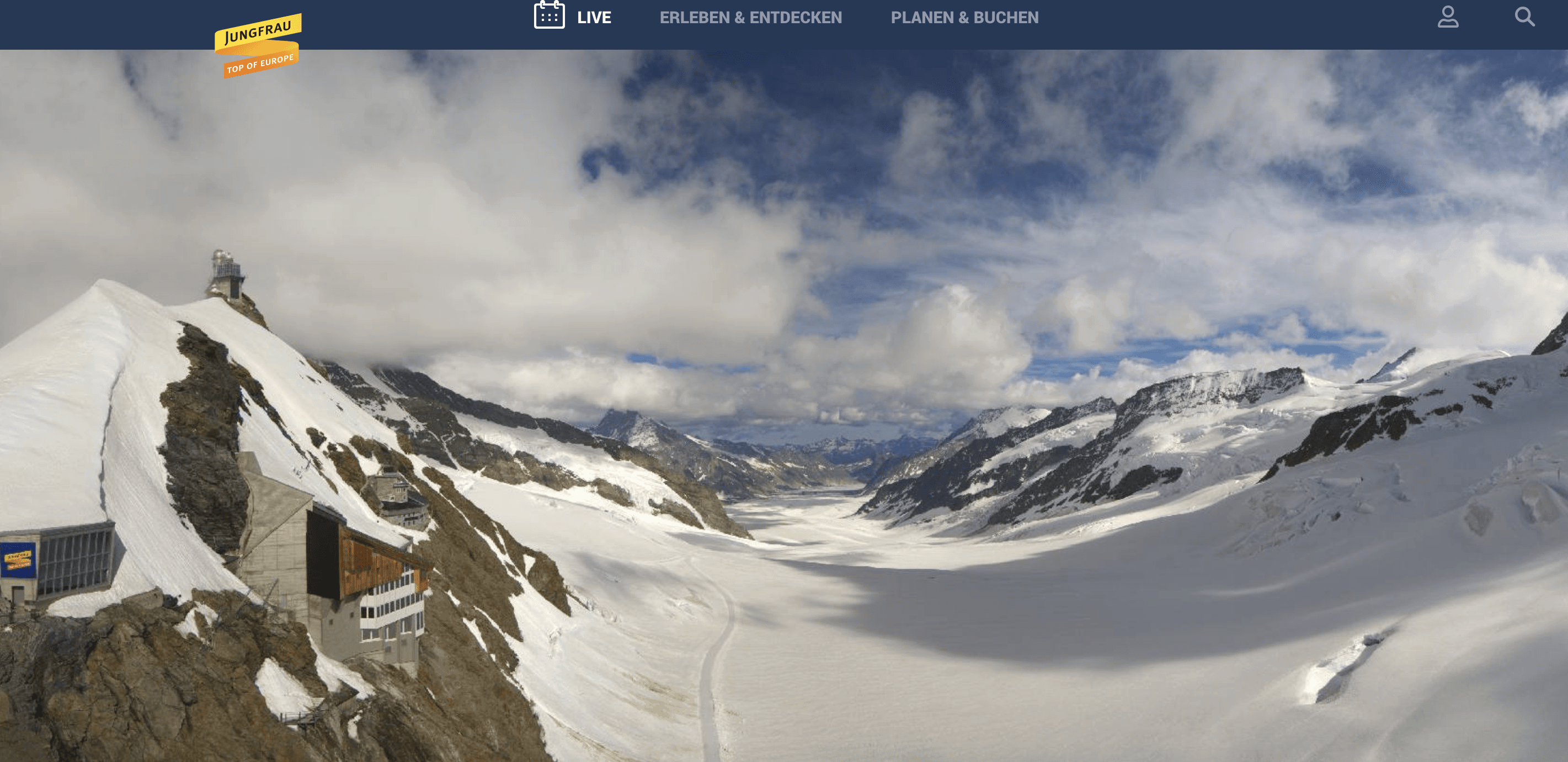 Jungfraujoch Webcam