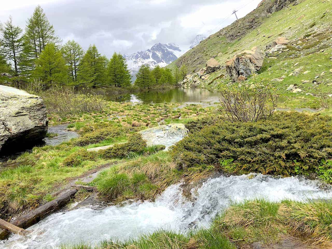 Five Lakes Hike Grindjisee