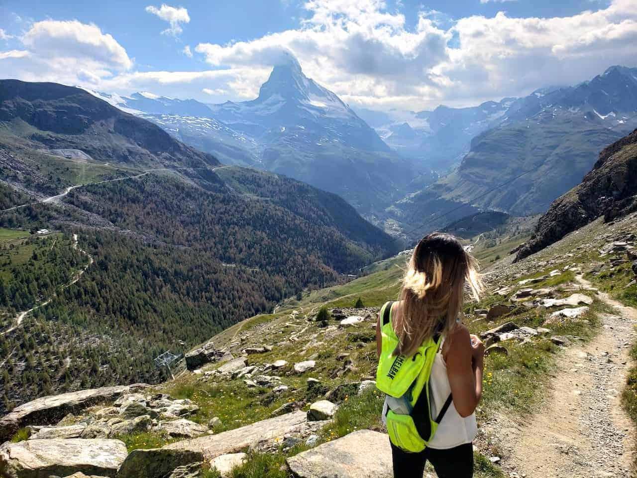 Five Lakes Trail Zermatt Matterhorn