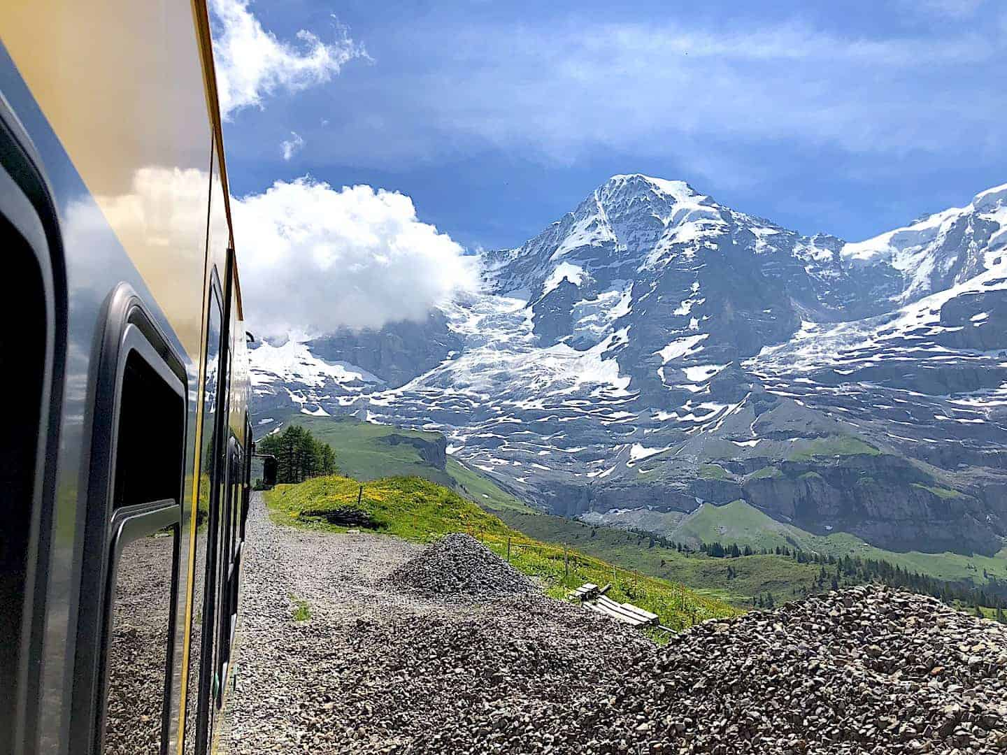 Kleine Scheidegg Train Views