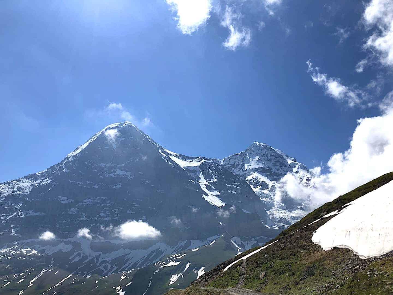 Mannlichen to Kleine Scheidegg Eiger View