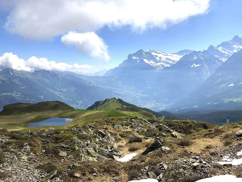 Mannlichen to Kleine Scheidegg Lake View