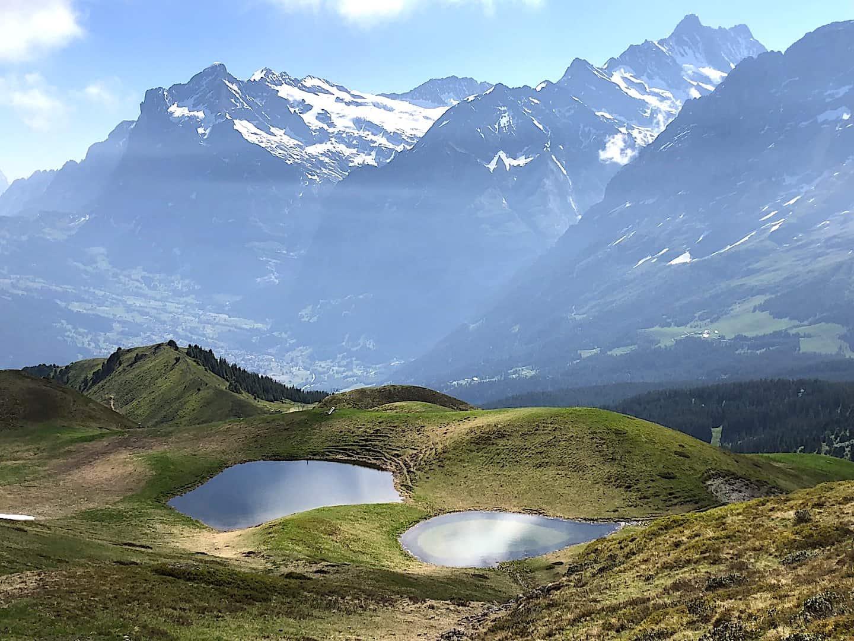 Mannlichen to Kleine Scheidegg Lake