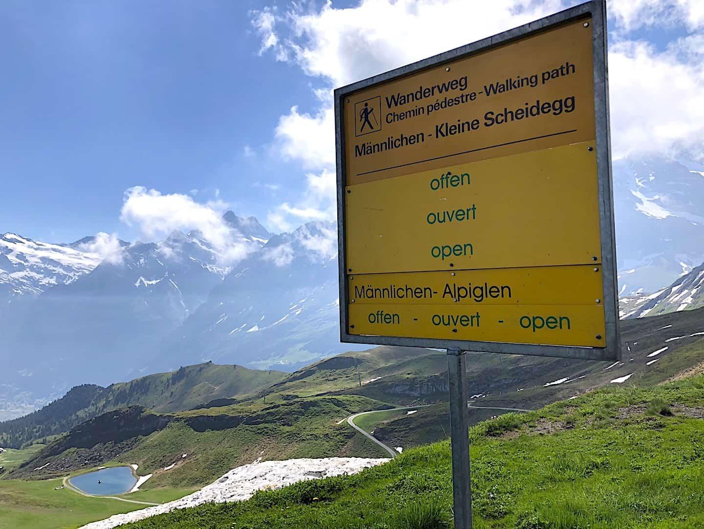 Mannlichen to Kleine Scheidegg Open