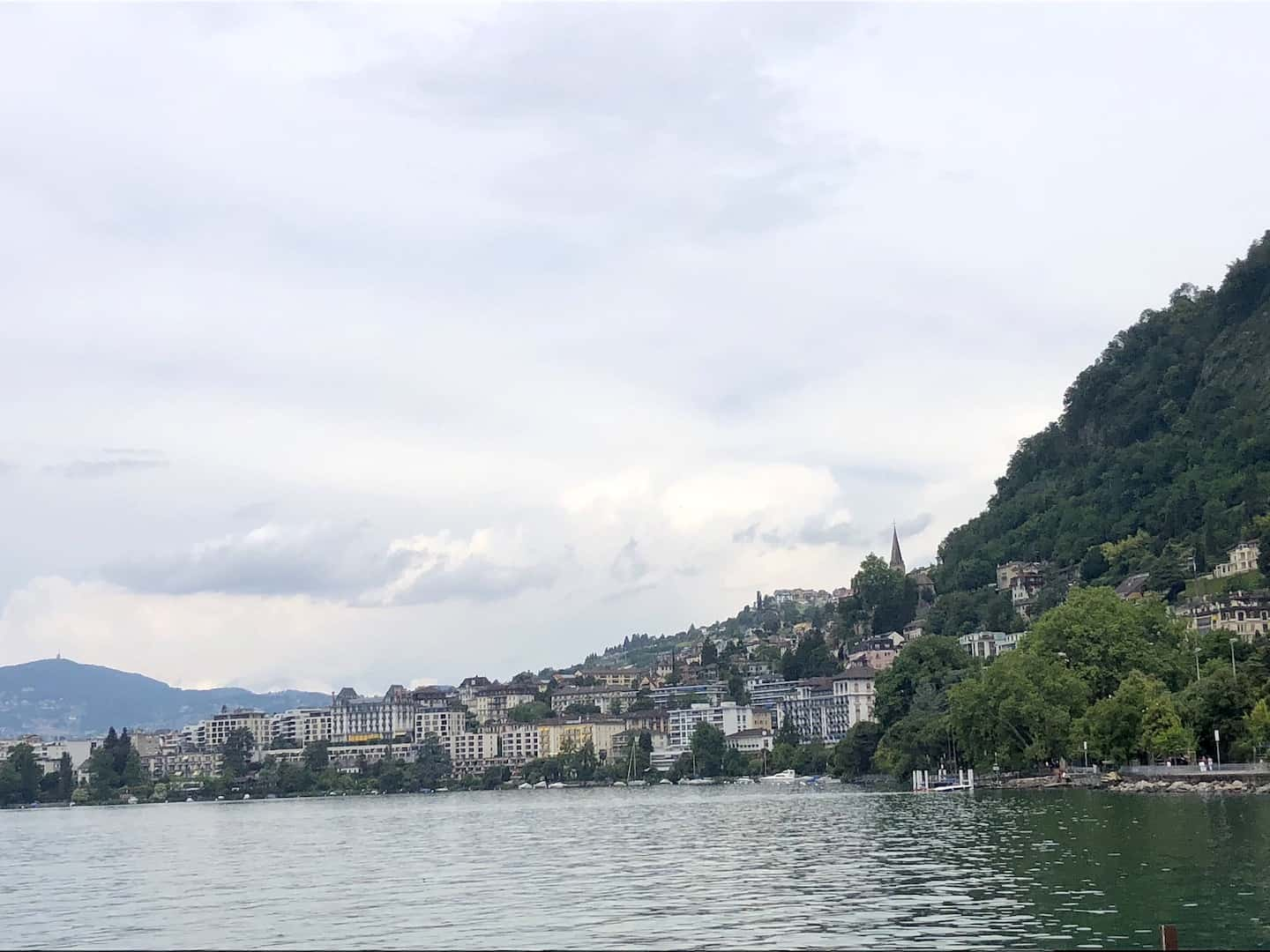 Montreux Town View