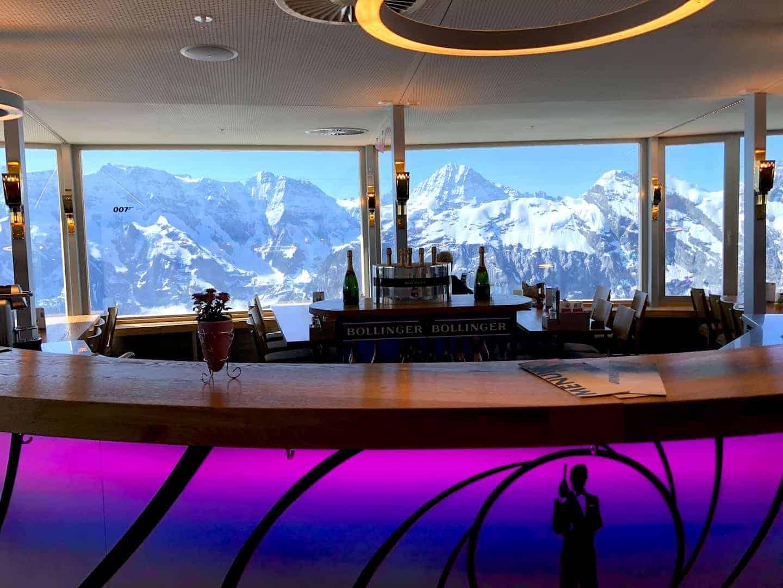 Schilthorn Piz Gloria Bar