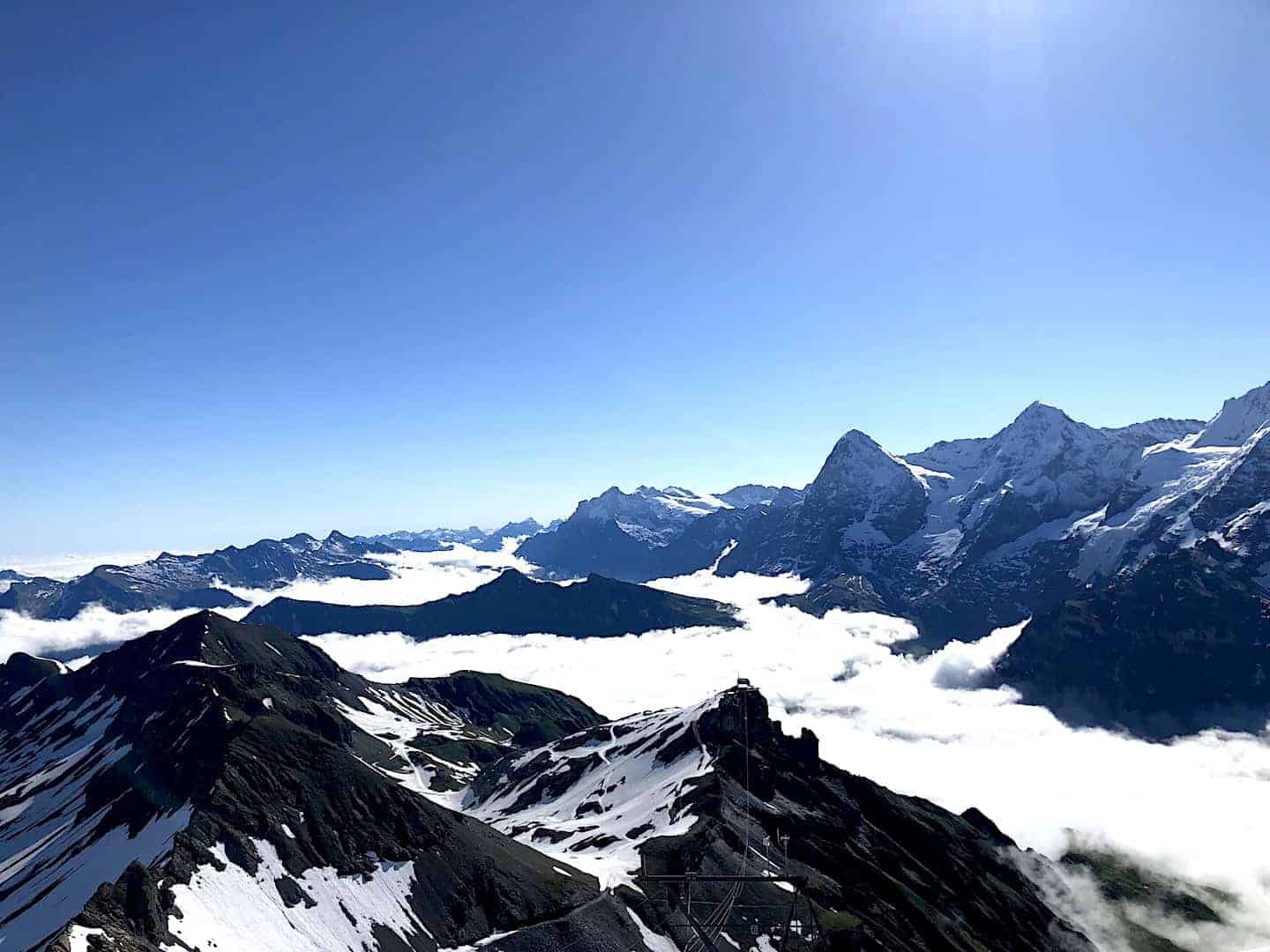 Schilthorn View Clouds