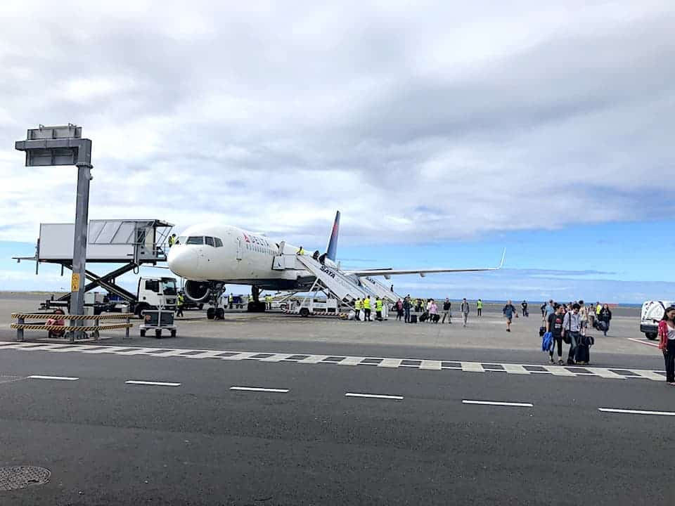 Azores Tarmac Airport