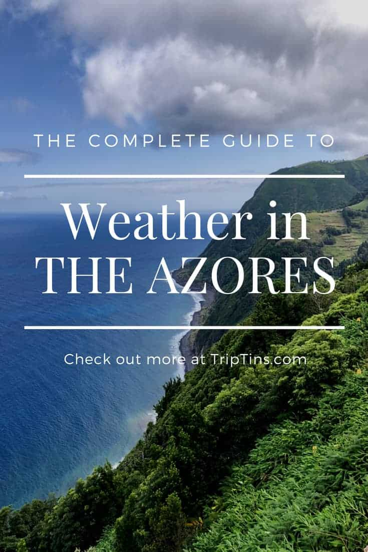 Azores Islands Weather